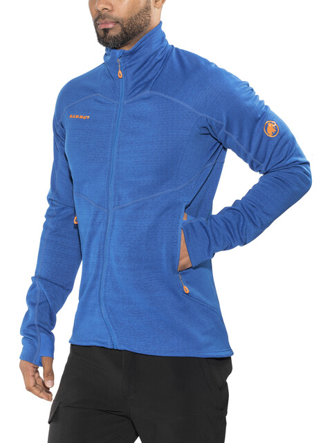 Mammut Eiswand Guide ML mid layer Uomo blu